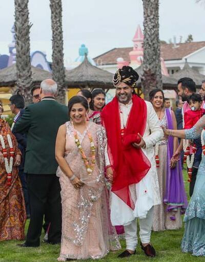 3 gün 3 gece sürecek! 1 milyon euroluk Hint düğünü başladı