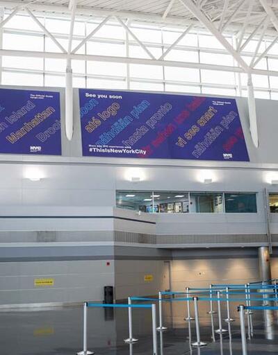 ABD'nin Avrupa kararı sonrası havalimanları boş kaldı