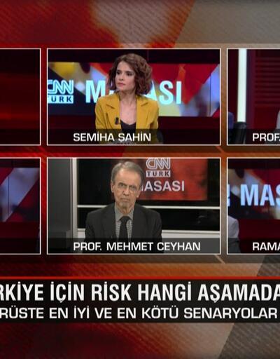 Koronavirüste en iyi ve en kötü senaryo ne? Türkiye için risk hangi aşamada? CNN TÜRK Masası'nda tartışıldı