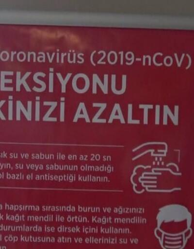 Hastanelerde koronavirüs önlemi