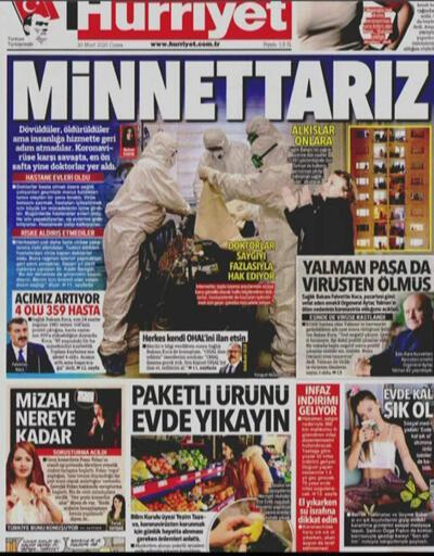 Vaka sayısı artıyor... İşte gazetelerin koronovirüs manşetleri...