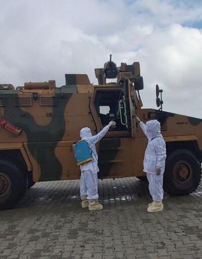 MSB'den hudut birliklerine koronavirüs önlemi