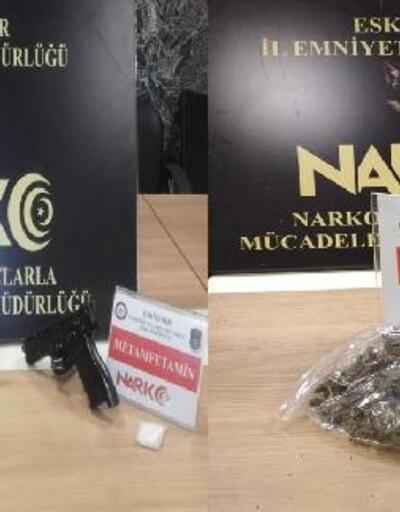 Eskişehir'de uyuşturucu operasyonuna 9 gözaltı