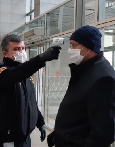 İstanbul Adliyesi'nde koronavrüs önlemleri artırıldı
