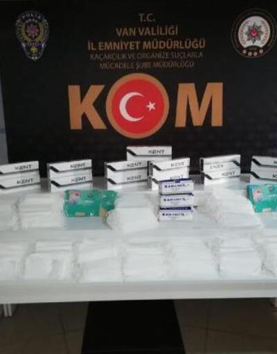 1500 kaçak tıbbi maske ele geçirildi