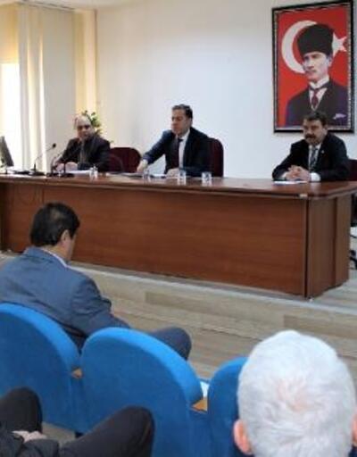 Dinar'da 'Vefa Sosyal Destek Grubu' toplantısı