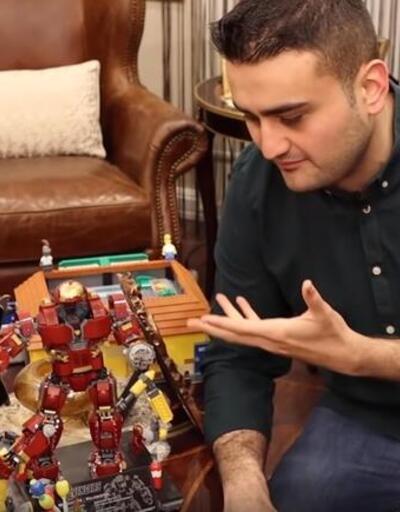 Oyuncaklarının fiyatı 100 - 150 bin TL! Ünlü şef Burak Özdemir evinin kapılarını açtı