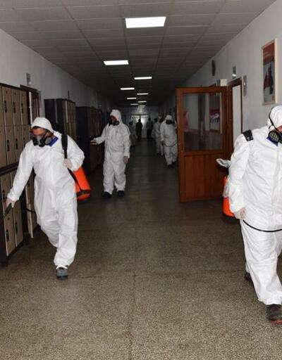 MSB: Birliklerde dezenfekte işlemleri sürdürülüyor