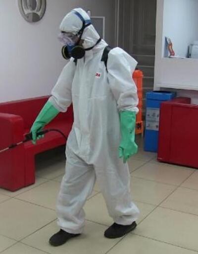 Bodrum'da dezenfekte seferberliği