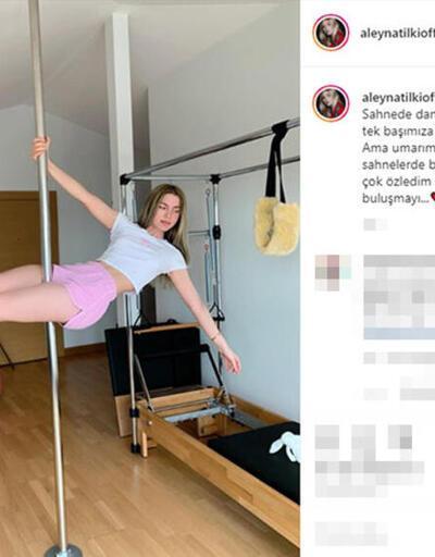 Aleyna Tilki: Evde tek başımıza dans ediyoruz