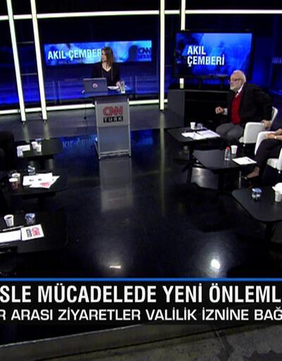Türkiye'nin koronavirüsle mücadelesinde alınan yeni önlemler Akıl Çemberi'nde masaya yatırıldı