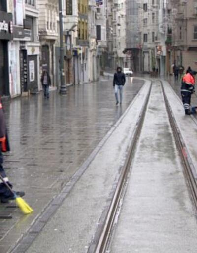 İstanbul'da koronavirüs ıssızlığı