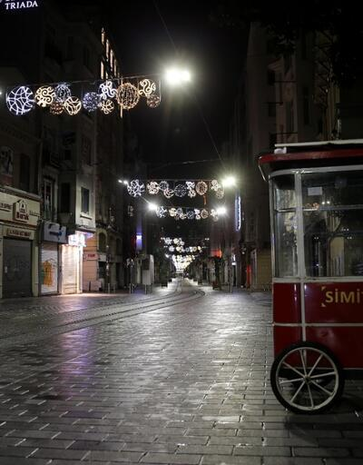 İstiklal Caddesi'nde 'koronavirüs sessizliği'
