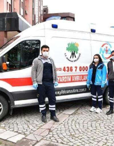 Anne adaylarına özel acil yardım ambulansı