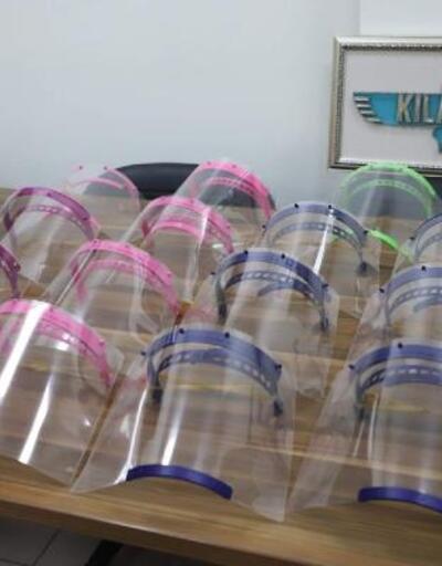 Kocaeli'de sağlık çalışanları için 3 boyutlu yazıcılarla yüz maskesi üretiliyor