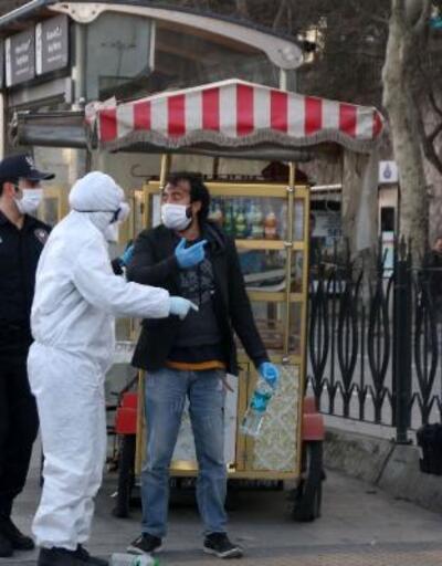Hırsızlık şüphelisi öksürerek polisten kurtulmaya çalıştı