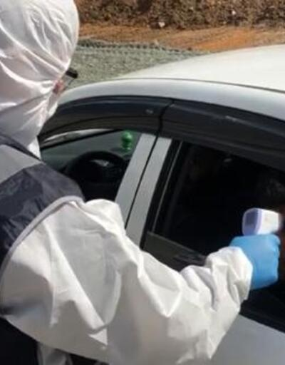 Nurdağı'nda koronavirüs kontrolü