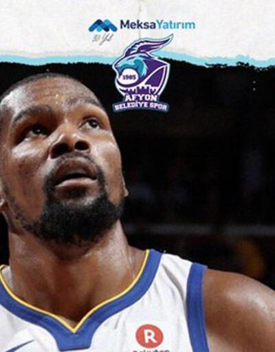 Afyon Belediyespor Kevin Durant'ı açıkladı!