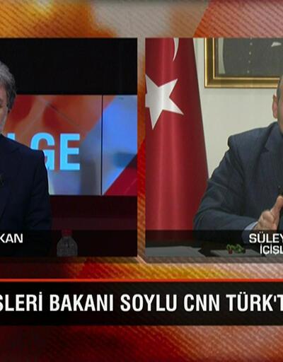 Bakan Süleyman Soylu, koronavirüsle mücadele kapsamında atılan adımları Tarafsız Bölge'de açıkladı