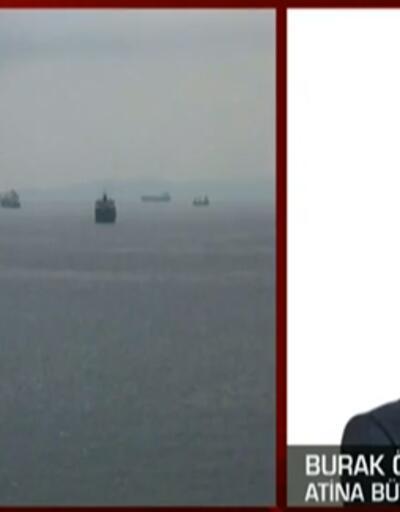 Dev gemi karantinada! Son durumu Atina Büyükelçisi aktardı