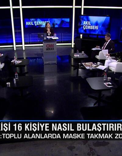 Türkiye'nin verileri ne anlama geliyor, pik noktayı ne zaman görecek? Akıl Çemberi'nde konuşuldu