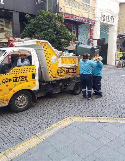 Antakya'da 'Çöp Taksi' hizmete başladı