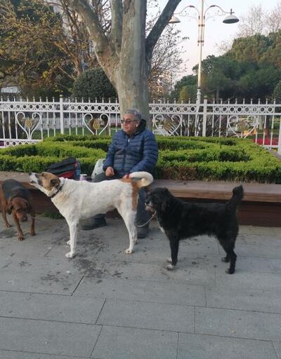 Köpeğini gezdirmek için sokağa çıkma yasağına uymadı