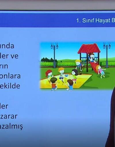 EBA TV 13 Nisan ders programı | TRT EBA TV canlı izle