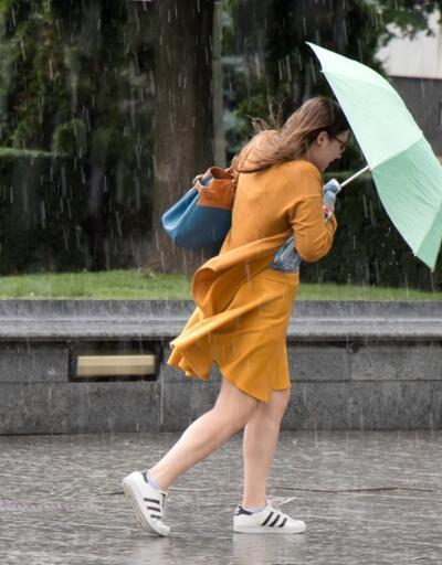Hava durumu 14 Nisan: Fırtına ve yağmur uyarısı! Meteoroloji saat verdi