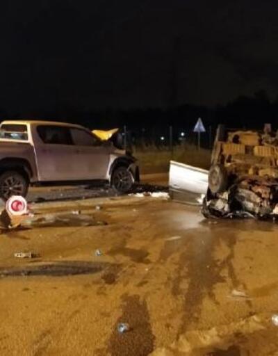 Döşemealtı'nda kaza: 2 yaralı
