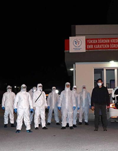 Londra'dan getirilen 262 Türk vatandaşı Çankırı'da yurda yerleştirildi