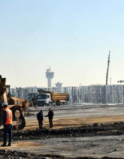 Atatürk Havalimanı'ndaki salgın hastanesinin iskeleti ortaya çıktı