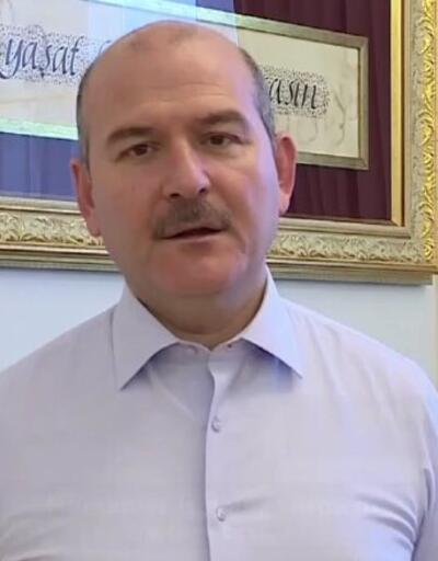 """İçişleri BakanıSoylu'dan videolu """"evde kal"""" çağrısı"""