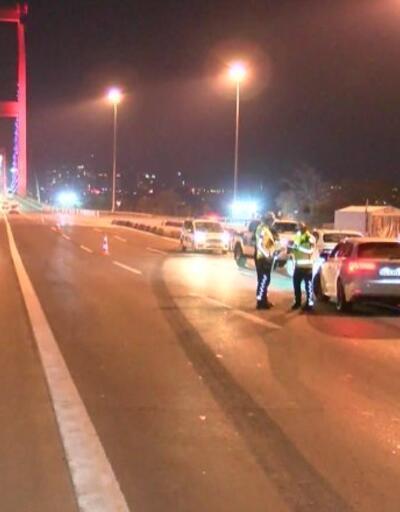 İstanbul'da polis denetimleri gece de devam etti