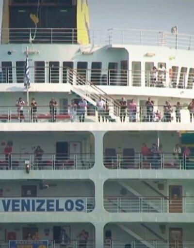 Geminin Türk yolcuları Türkiye'de