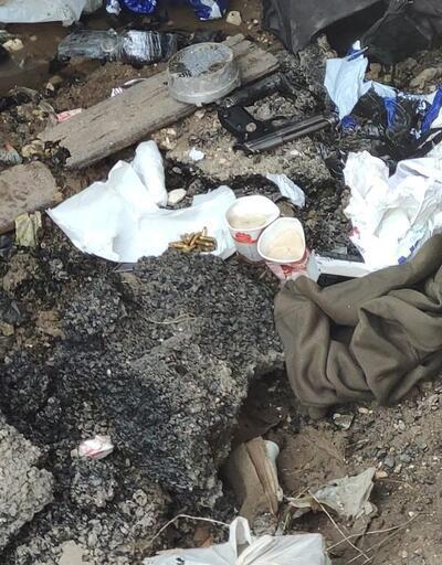 PKK'lı teröristlerin hazırladığı patlayıcı ele geçirildi