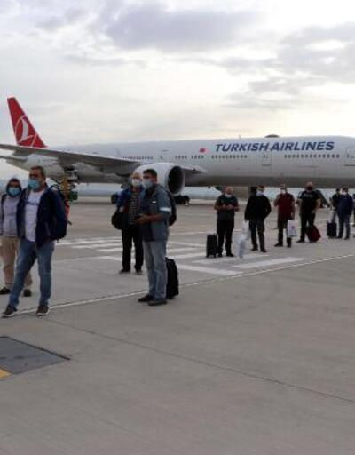Bahreyn'den gelen 62 Türk vatandaşı karantinada