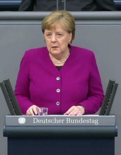 Merkel'den salgın uyarısı