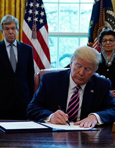 Trump'tan 484 milyar dolarlık imza!
