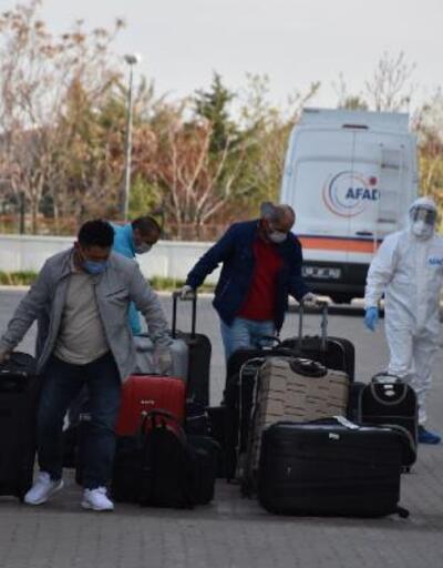 Fas'tan getirilen 277 kişi yurtlara yerleştirildi