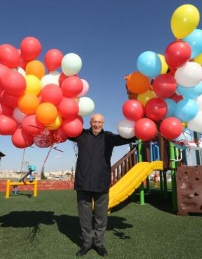 100'üncü Yıl 23 Nisan Parkı hizmete açıldı