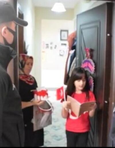 Erdek polisinden çocuklara hediye