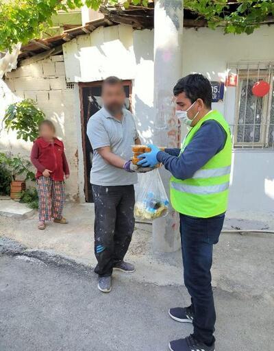 Bayraklı'da Belediye'den ramazan boyunca her gün 500 kişiye dört çeşit