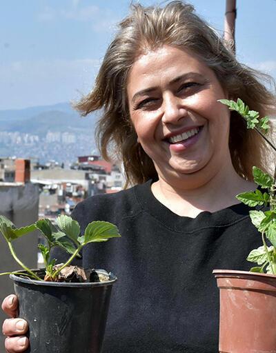Balkonlar tarım alanı oldu