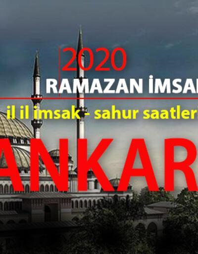 Ankara iftar vakti - 2020 imsakiye: 27 Nisan Ankara iftar saati kaç?