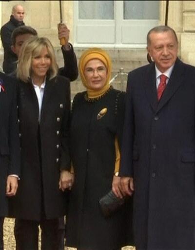 Erdoğan ve Macron'un eşleri telefonda görüştü