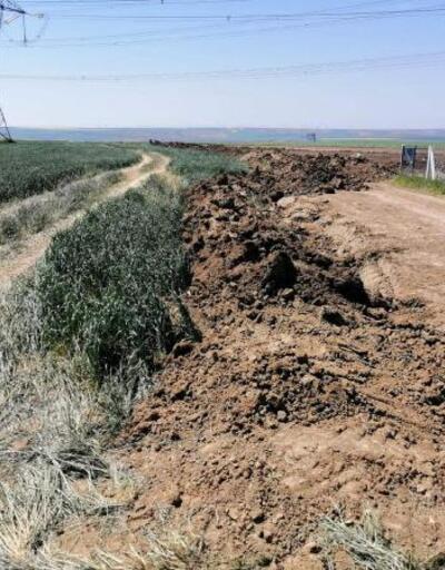 Tekirdağ'a kaçak gelenler araçlarıyla tarlalara zarar verdi