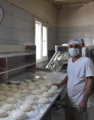 Sadece Ramazanda tüketiliyor! Dolmalık ekmekler raflarda