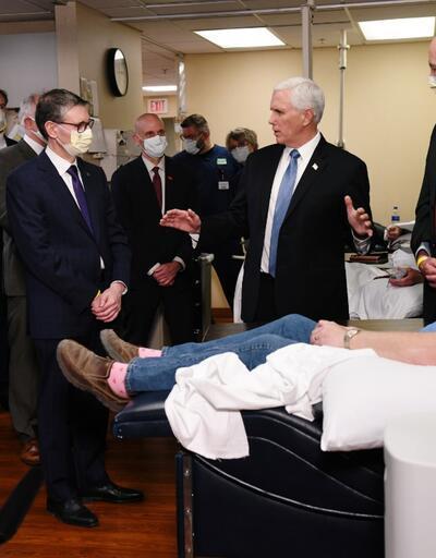 ABD Başkan Yardımcısı Pence'in ziyaretine tepki: Maske takmadı