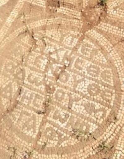 Tarihi mozaiği 100 milyon TL'ye satmak isteyenler yakalandı